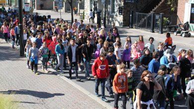Photo of 1200 élèves de la CSMV marchent pour dénoncer l'intimidation à l'école