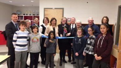 Photo of Inauguration officielle de l'agrandissement de l'école Saint-Romain