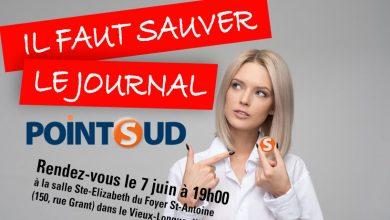 Photo of IL FAUT SAUVER LE JOURNAL POINT SUD!!